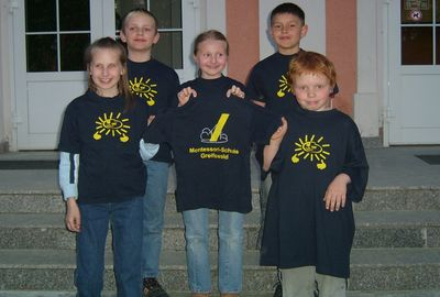 35. Platz: Montessori GS Greifswald; Foto: Ausrichter