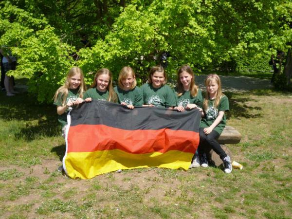 20. Platz: Hort »Storchennest« (Schule an der Carbäk) ~ SadC Broderstorf; Foto: Ausrichter