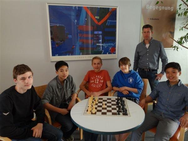 11. Platz: Gerhart Hauptmann Gymnasium Wismar; Foto: Ausrichter