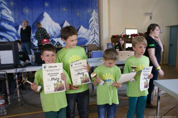 37. Platz: Haff-Grundschule Ueckermünde; Foto: Ausrichter
