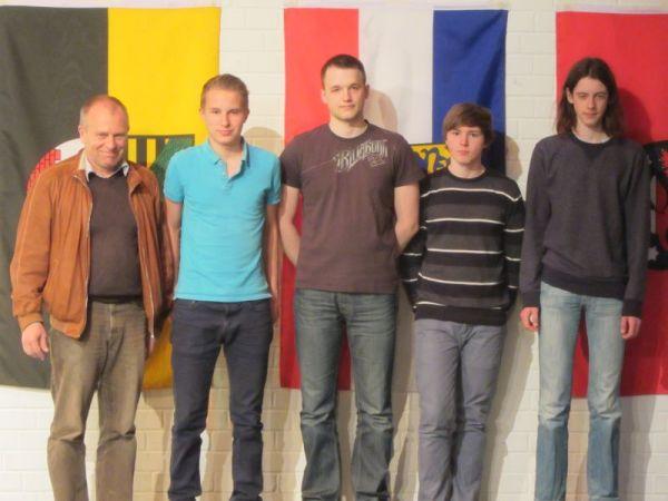 13. Platz: Richard-Wossidlo-Gymnasium Waren; Foto: Ausrichter