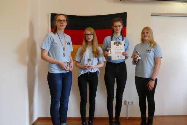16. Platz: Gymnasium Gadebusch; Foto: Ausrichter