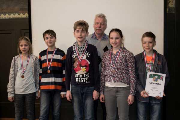 17. Platz: Regionale Schule Burg Stargard; Foto: Ausrichter