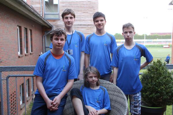 14. Platz: CJD Christophorusschule Rostock; Foto: Ausrichter
