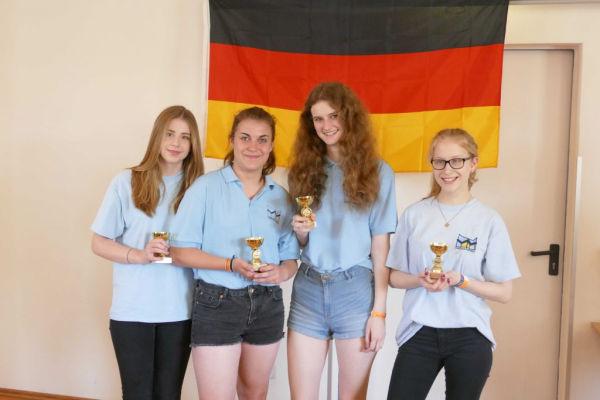25. Platz: Gymnasium Gadebusch; Foto: Ausrichter