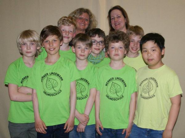 27. Platz: Werner-Lindemann-Grundschule Rostock 1; Foto: Ausrichter